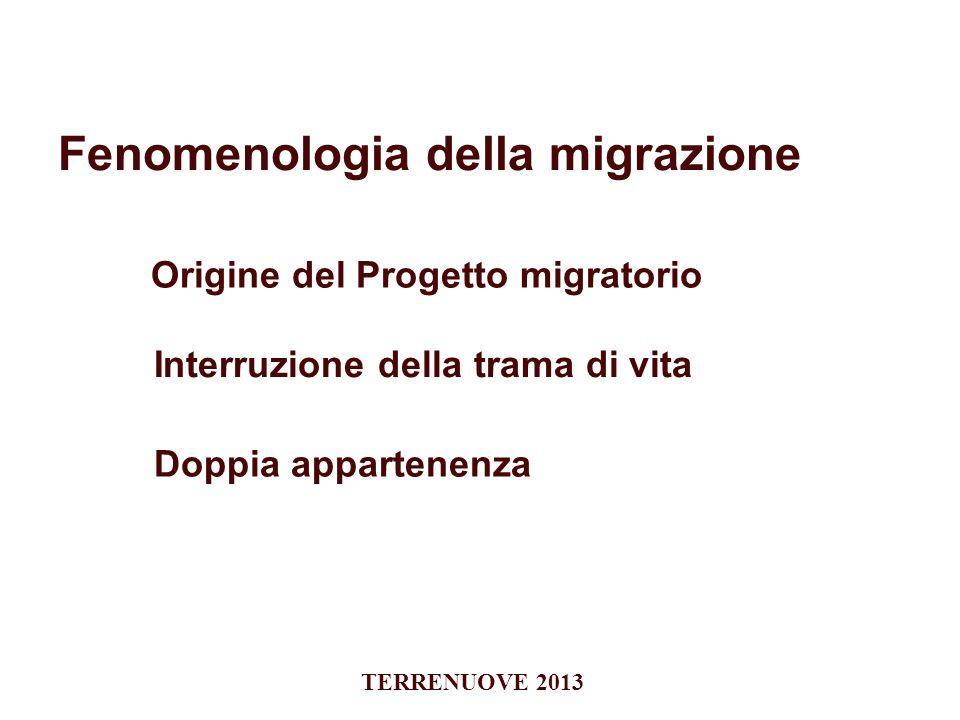 Fenomenologia della migrazione