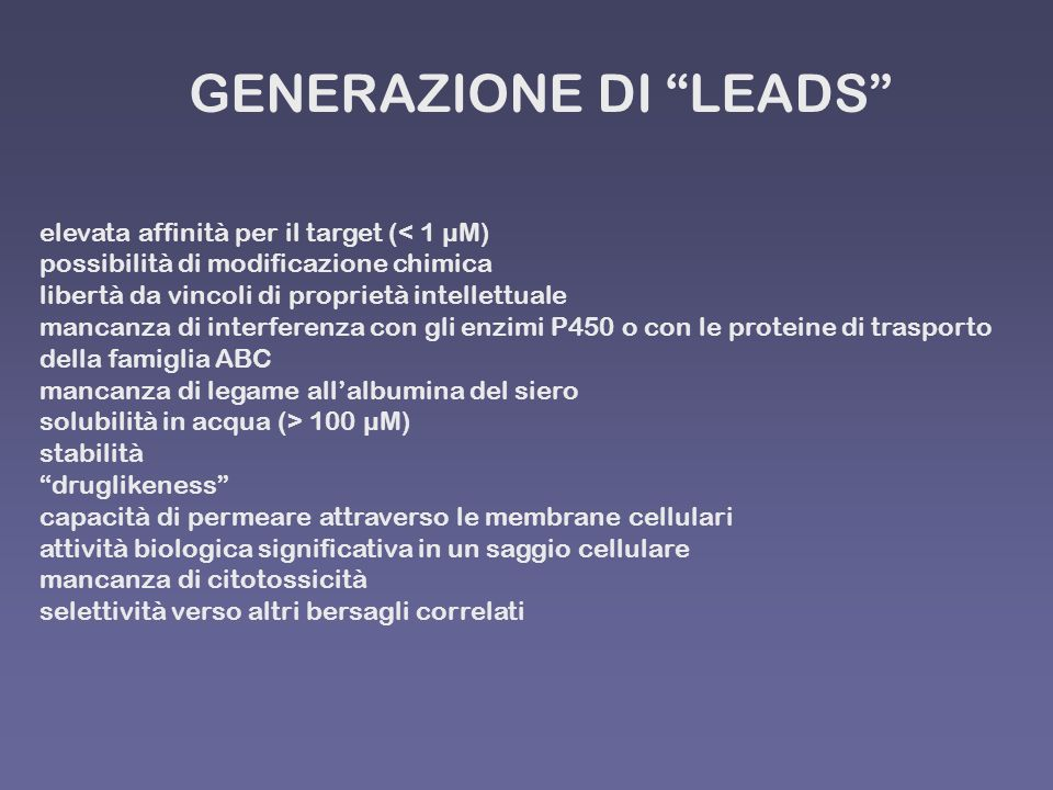 GENERAZIONE DI LEADS
