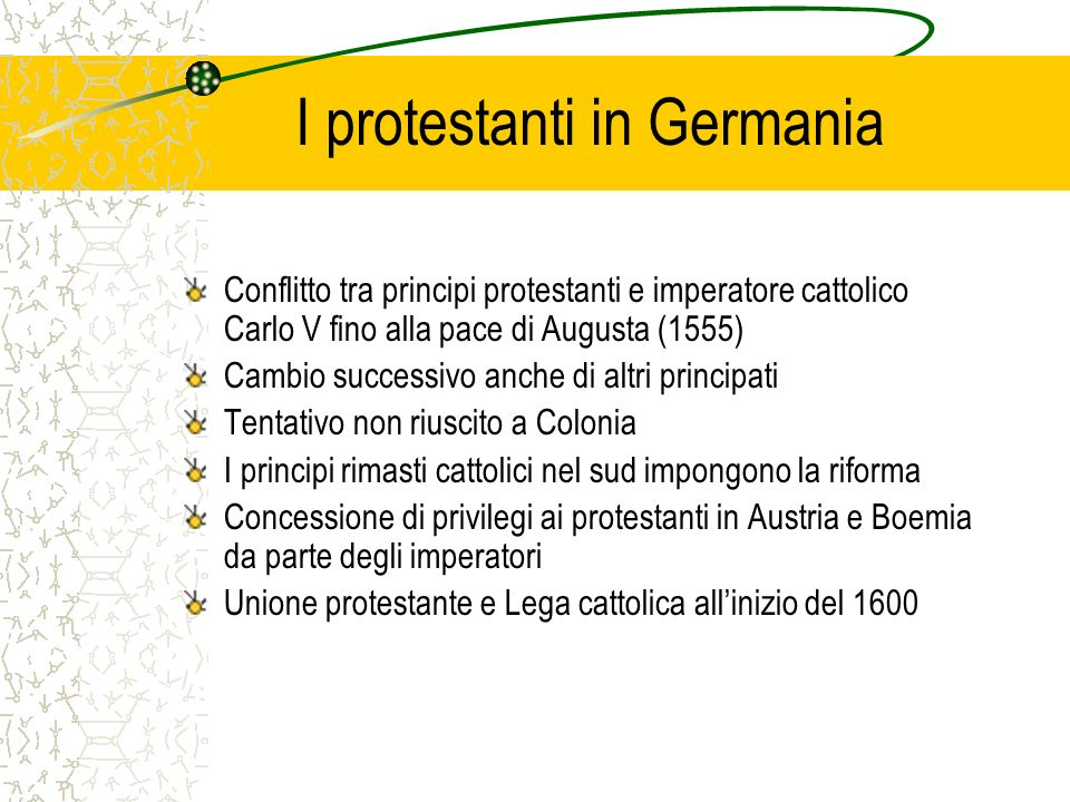 I protestanti in Germania