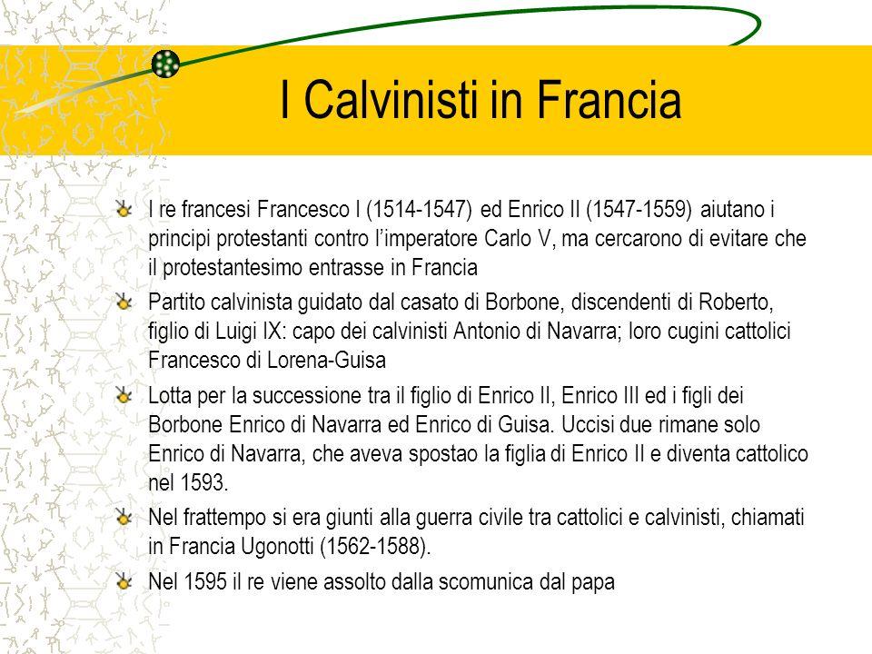 I Calvinisti in Francia
