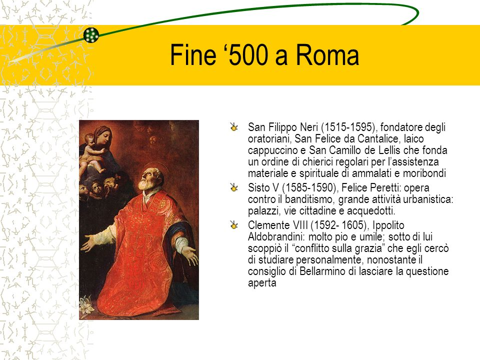 Fine '500 a Roma