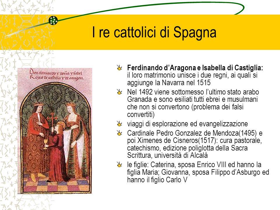 I re cattolici di Spagna