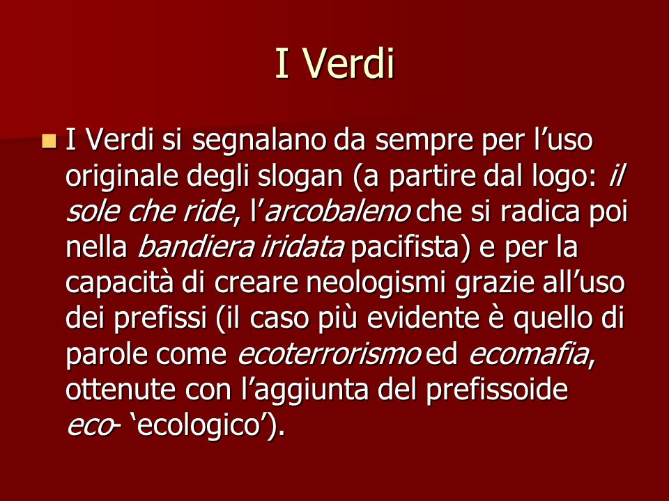 I Verdi