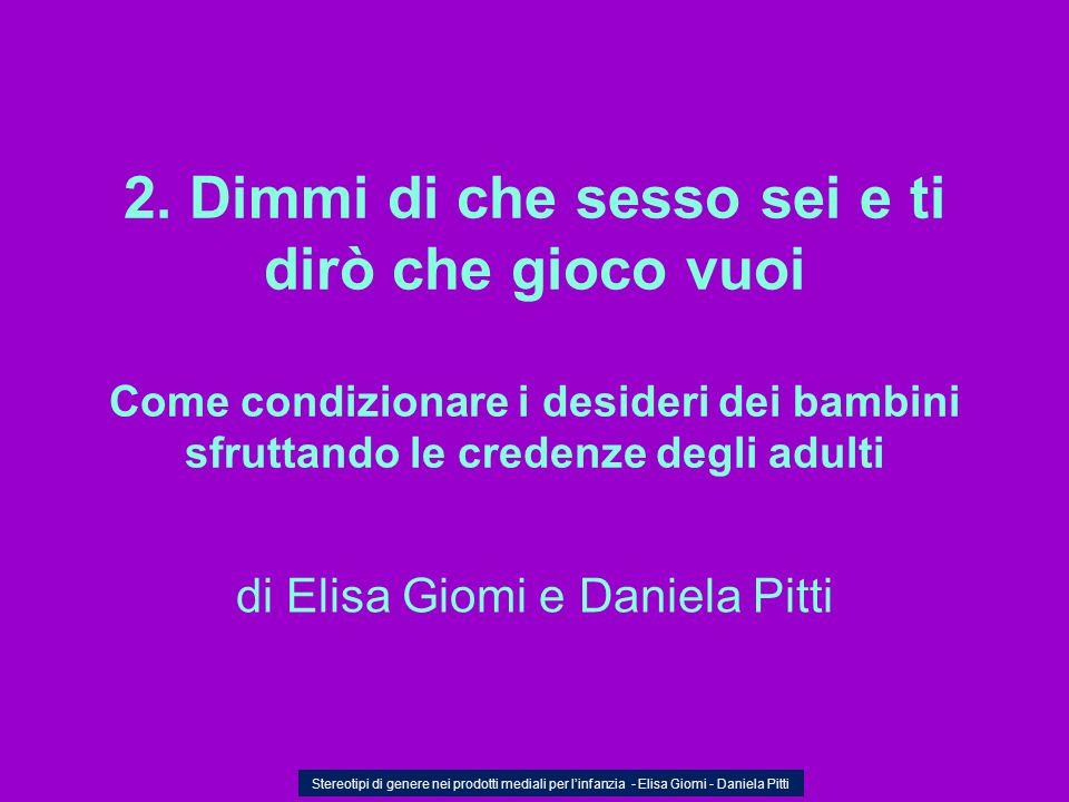 di Elisa Giomi e Daniela Pitti