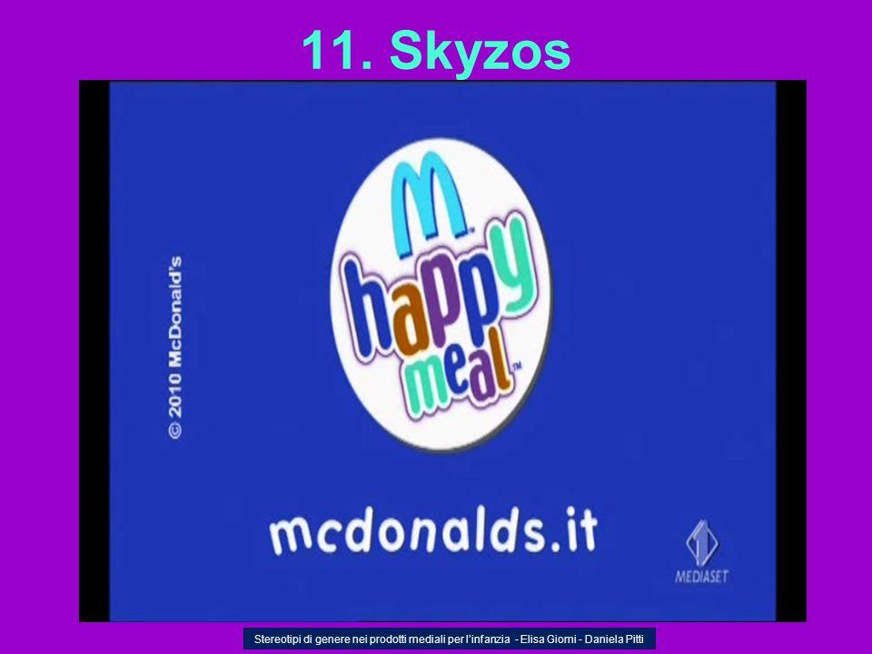 11. Skyzos Stereotipi di genere nei prodotti mediali per l'infanzia - Elisa Giomi - Daniela Pitti