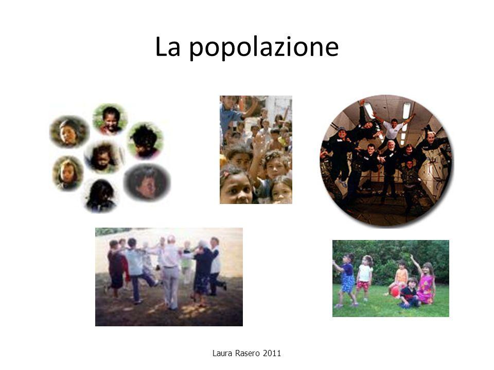 La popolazione Laura Rasero 2011