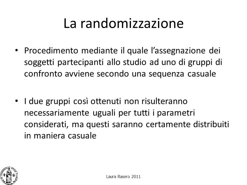 La randomizzazione