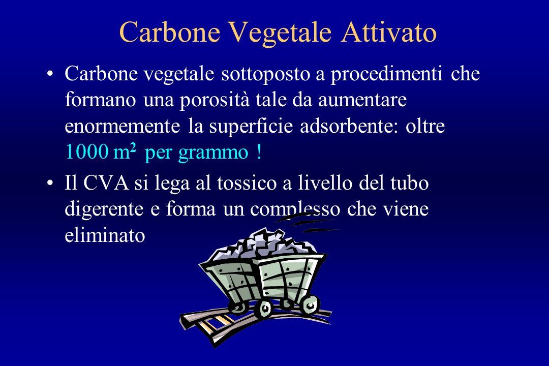 Carbone Vegetale Attivato