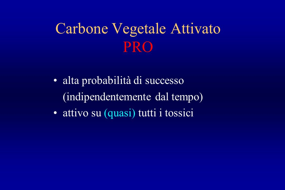 Carbone Vegetale Attivato PRO