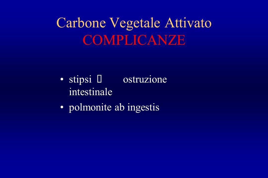 Carbone Vegetale Attivato COMPLICANZE