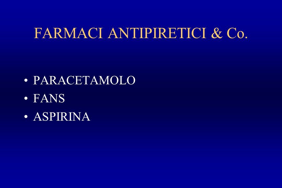 FARMACI ANTIPIRETICI & Co.