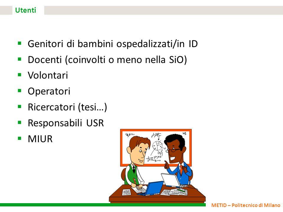 Genitori di bambini ospedalizzati/in ID