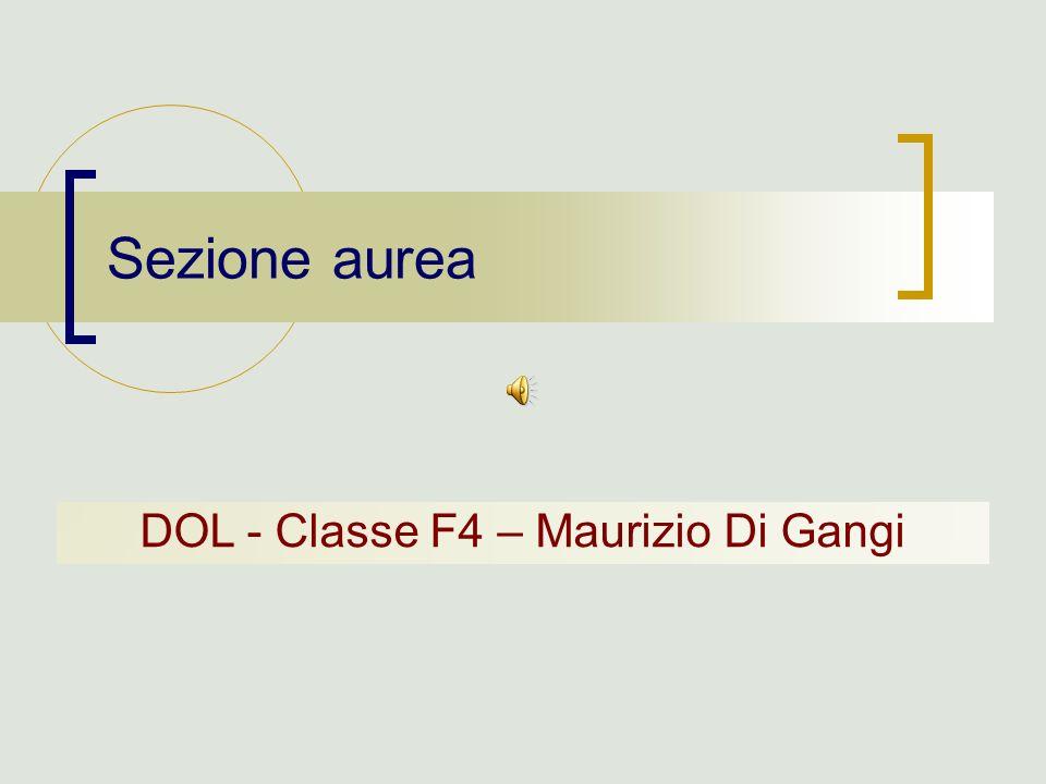 DOL - Classe F4 – Maurizio Di Gangi