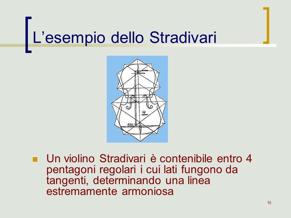 L'esempio dello Stradivari