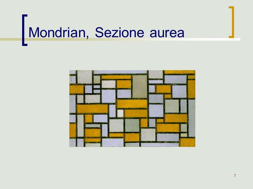 Mondrian, Sezione aurea