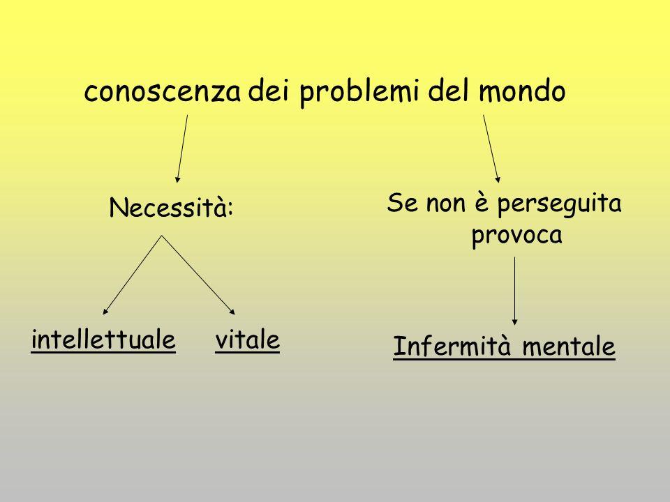 conoscenza dei problemi del mondo