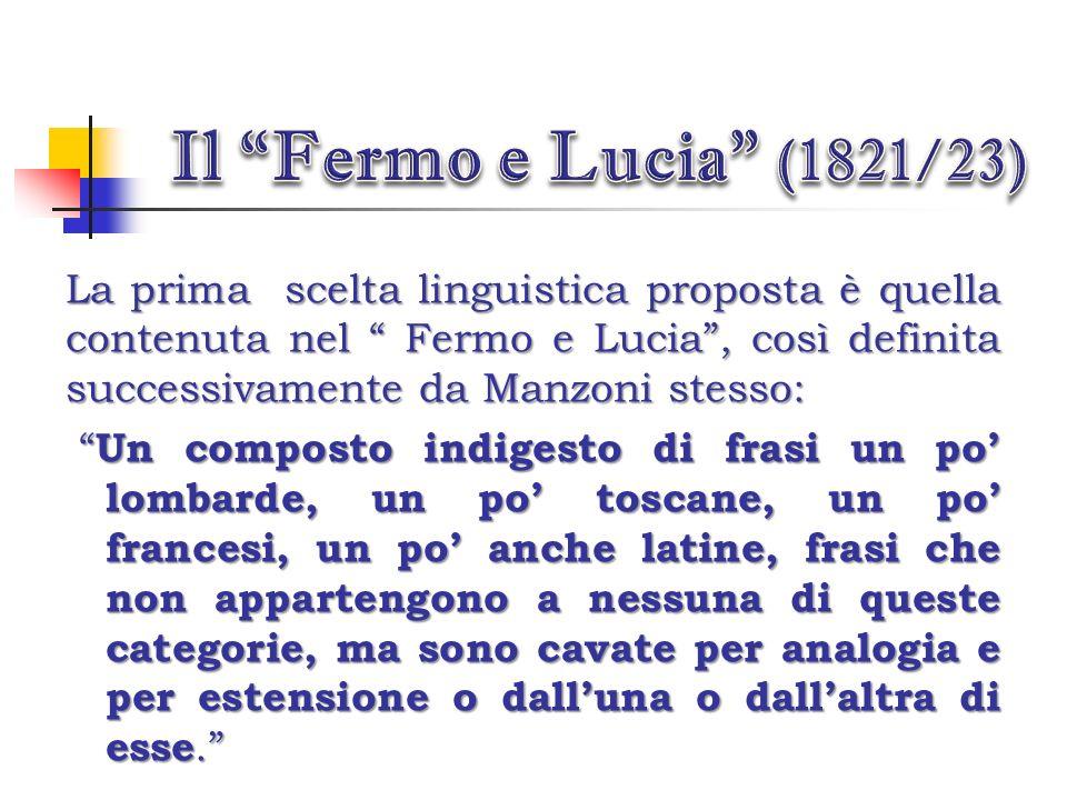 Il Fermo e Lucia (1821/23)