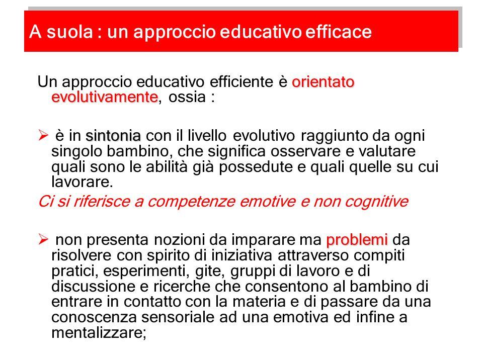 A suola : un approccio educativo efficace