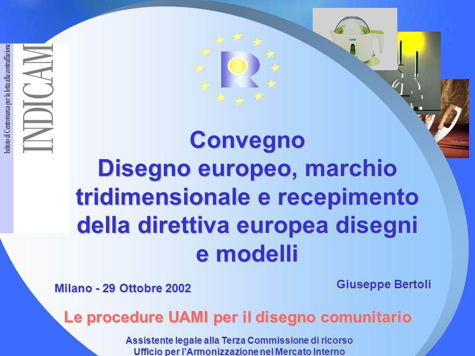 Convegno Disegno europeo, marchio tridimensionale e recepimento della direttiva europea disegni e modelli