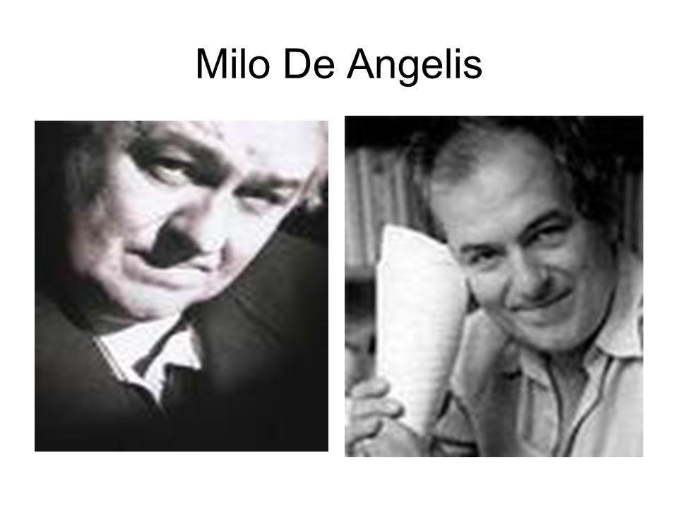 Milo De Angelis