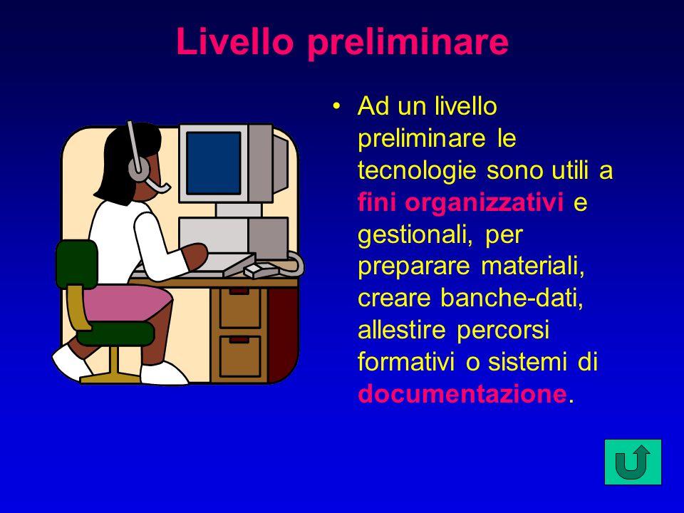 Livello preliminare