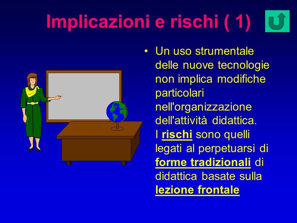 Implicazioni e rischi ( 1)