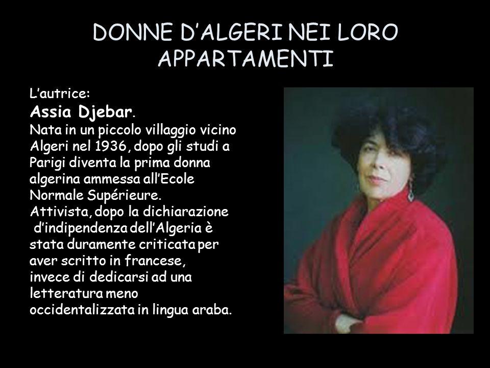 DONNE D'ALGERI NEI LORO APPARTAMENTI
