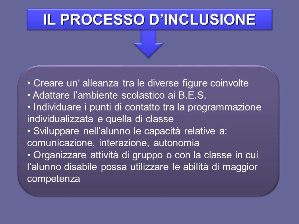IL PROCESSO D'INCLUSIONE