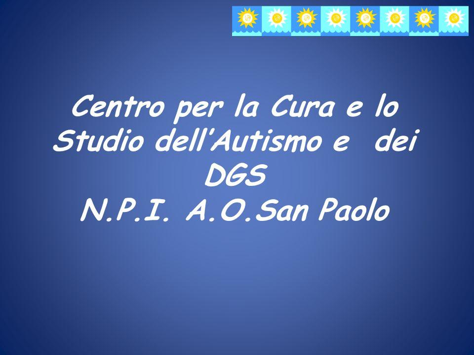 Centro per la Cura e lo Studio dell'Autismo e dei DGS N. P. I. A. O