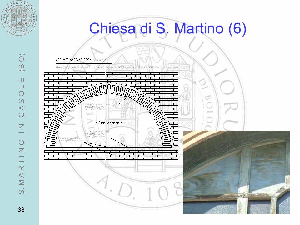 Chiesa di S. Martino (6) S. M A R T I N O I N C A S O L E (B O)