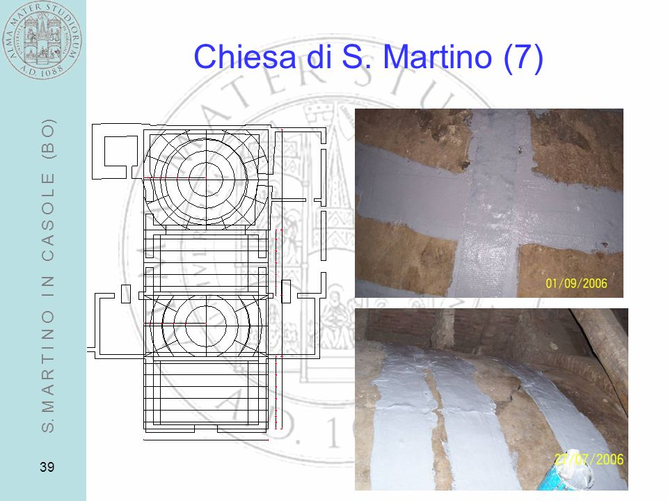 Chiesa di S. Martino (7) S. M A R T I N O I N C A S O L E (B O)