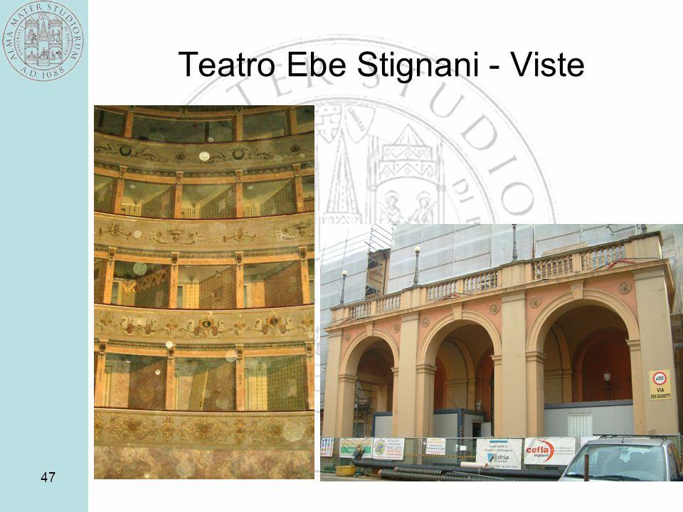 Teatro Ebe Stignani - Viste