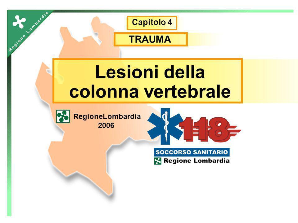 Lesioni della colonna vertebrale