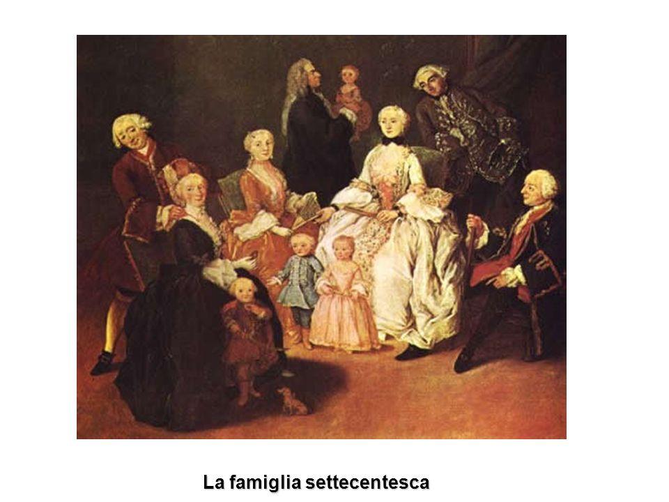 La famiglia settecentesca