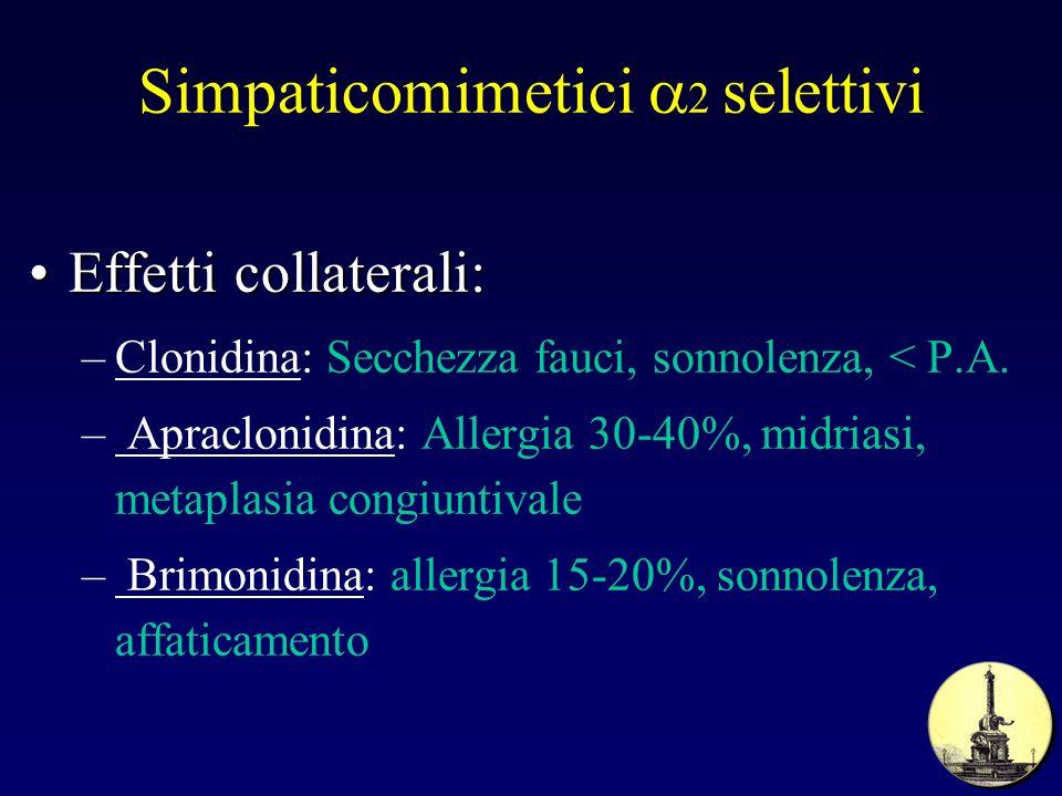 Simpaticomimetici a2 selettivi