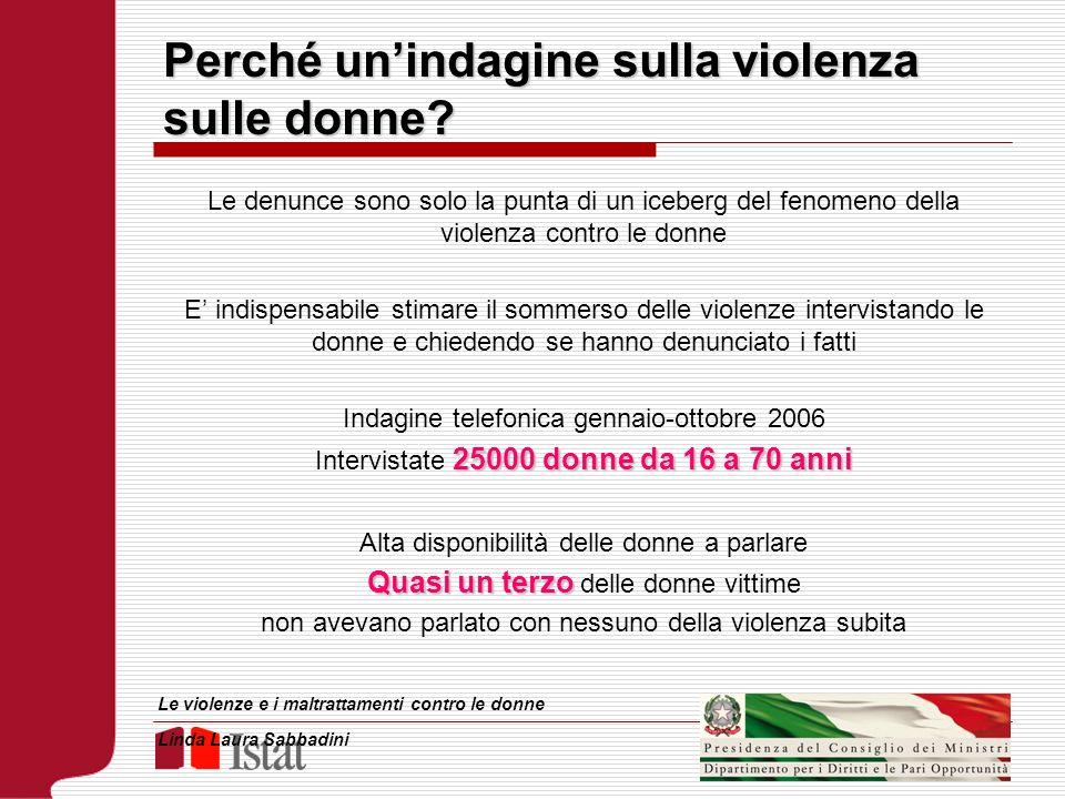Perché un'indagine sulla violenza sulle donne