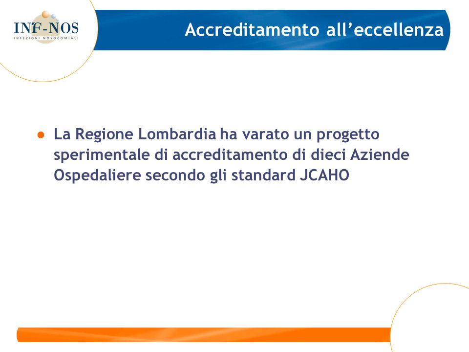 Accreditamento all'eccellenza
