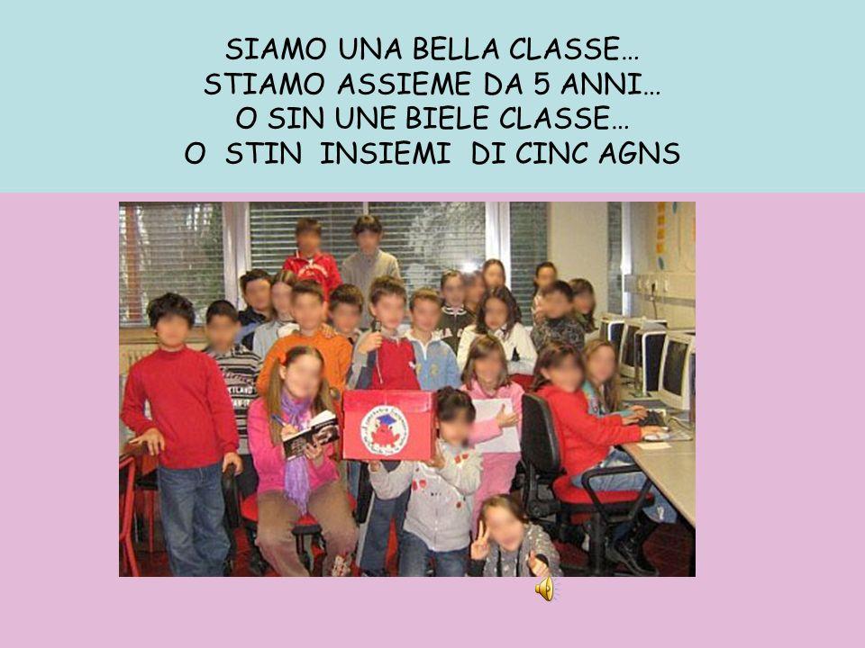 SIAMO UNA BELLA CLASSE…
