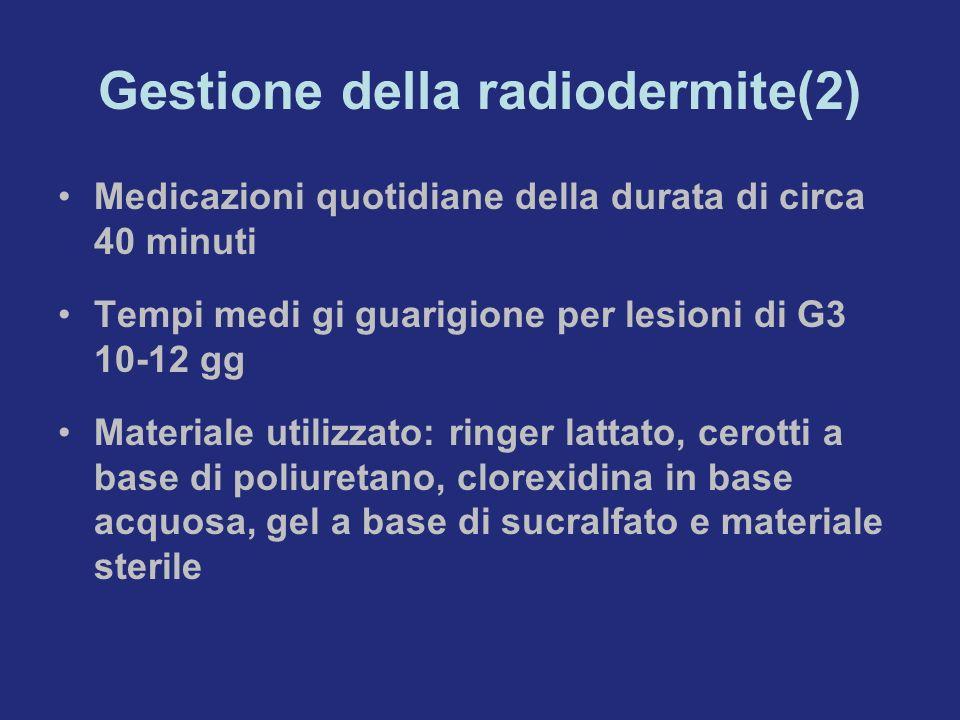 Gestione della radiodermite(2)