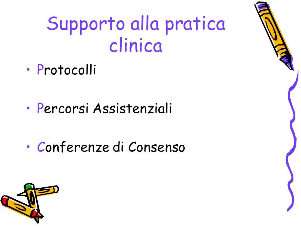 Supporto alla pratica clinica
