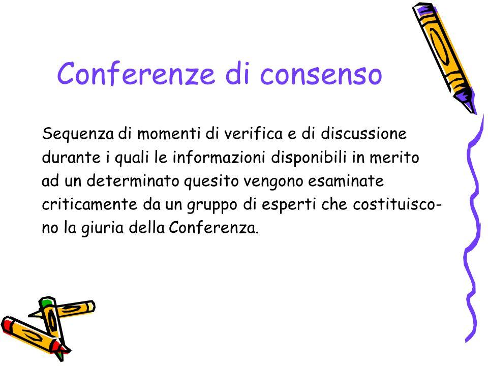 Conferenze di consenso
