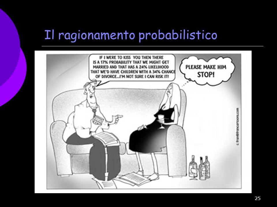 Il ragionamento probabilistico