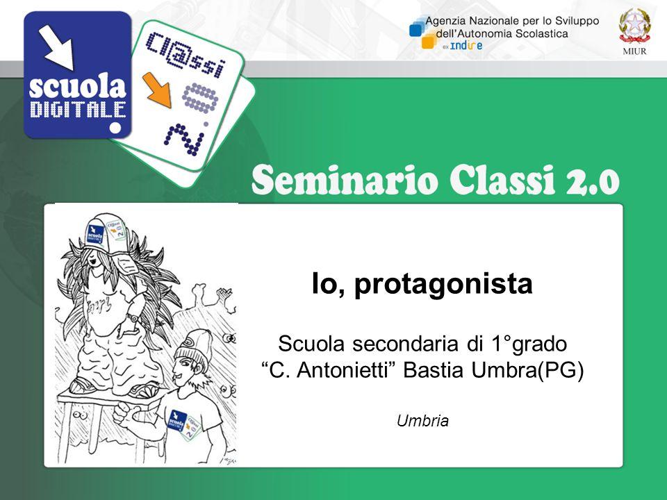 Scuola secondaria di 1°grado C. Antonietti Bastia Umbra(PG)