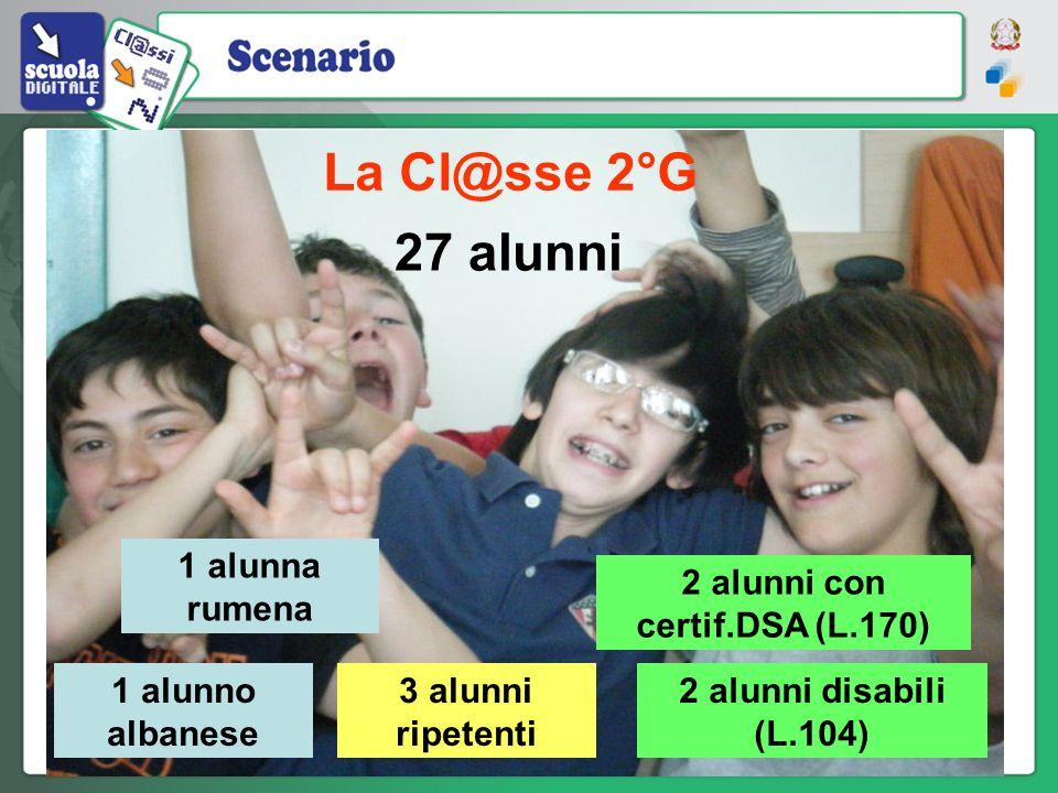 2 alunni con certif.DSA (L.170)