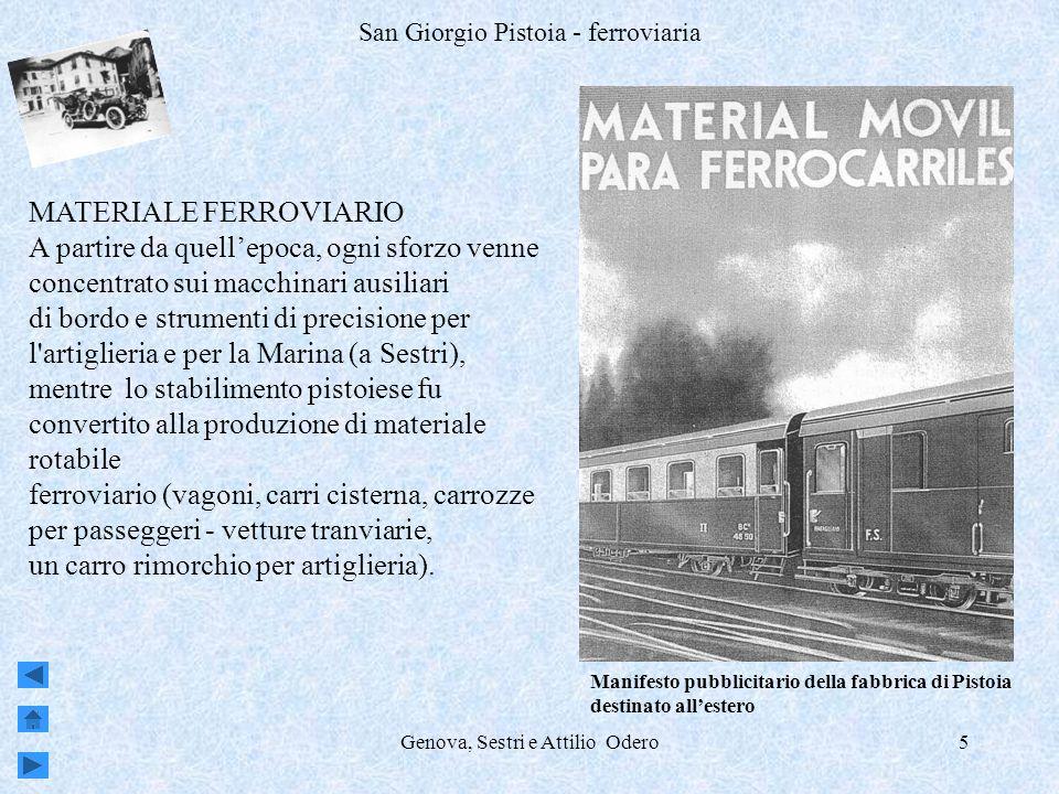 San Giorgio Pistoia - ferroviaria