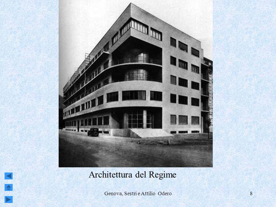 Genova, Sestri e Attilio Odero