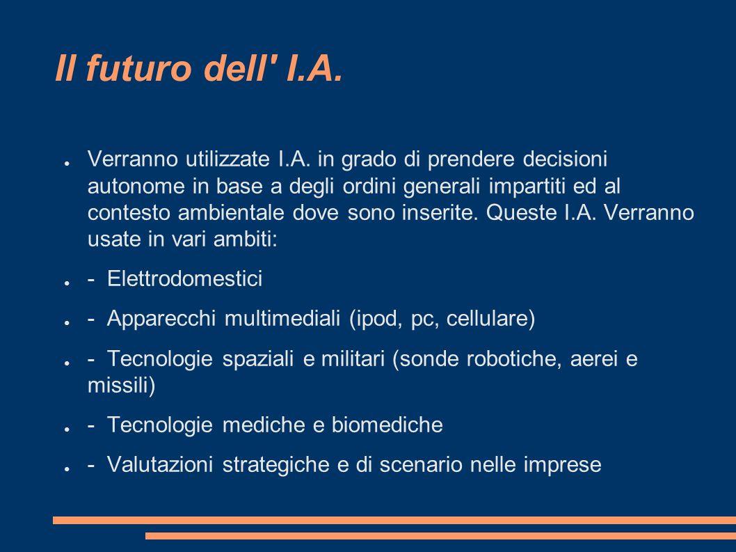 Il futuro dell I.A.