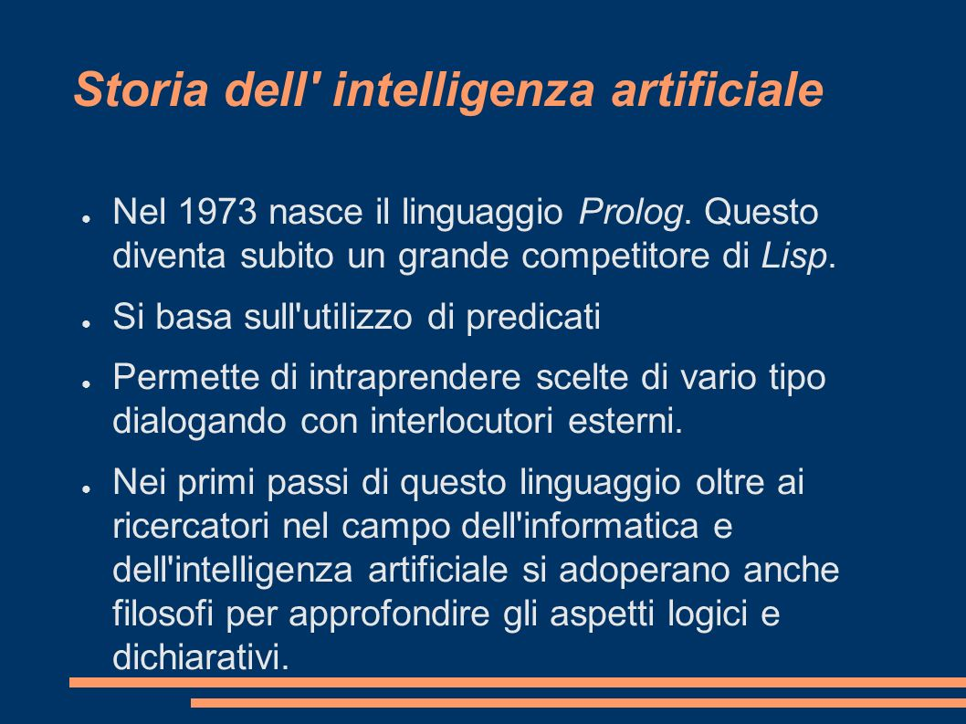 Storia dell intelligenza artificiale