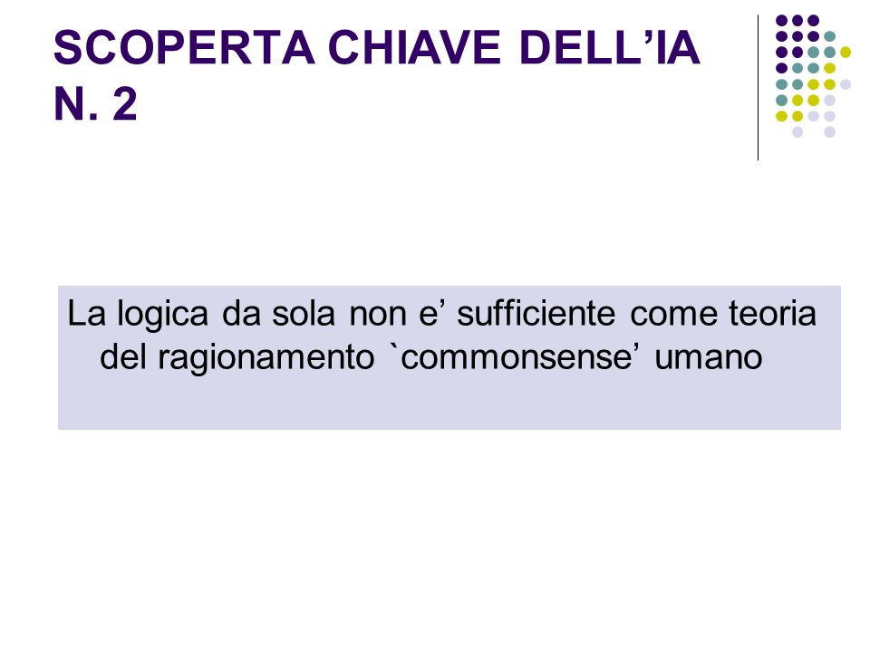 SCOPERTA CHIAVE DELL'IA N. 2