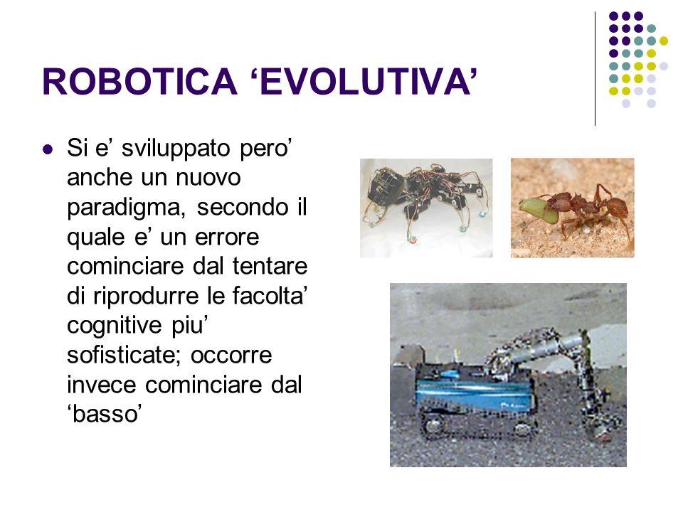 ROBOTICA 'EVOLUTIVA'